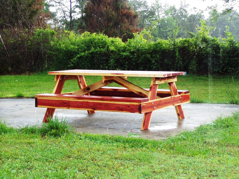 Picture of: Cedar Picnic Table Plan