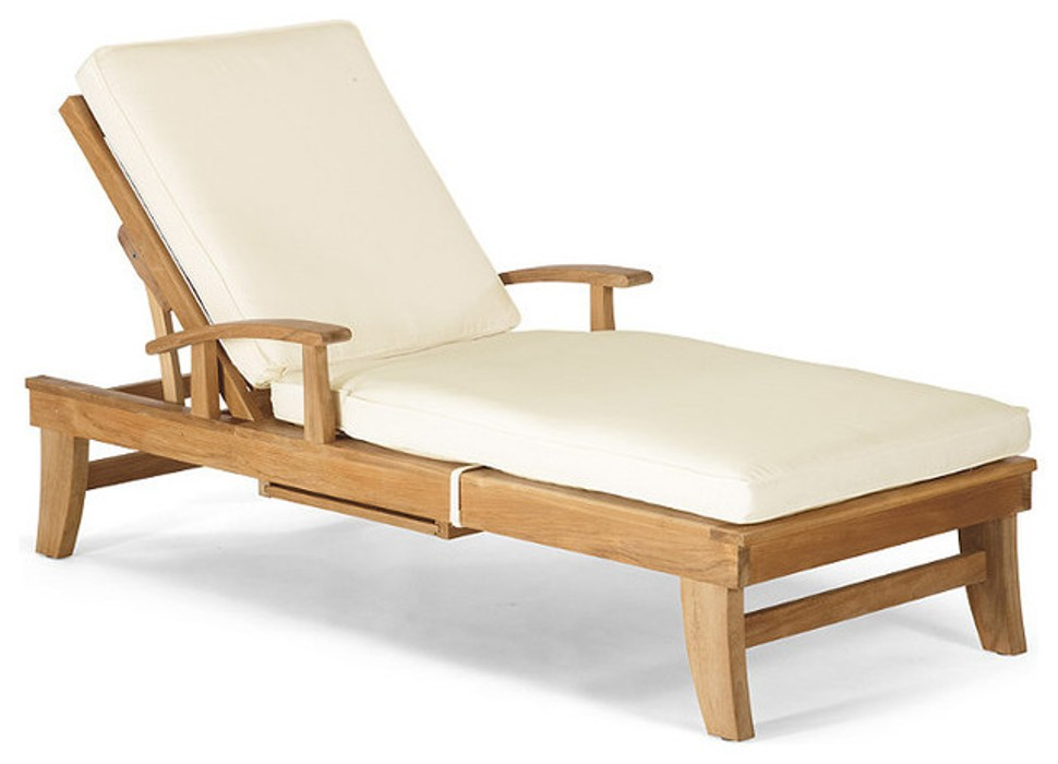 Image of: Chaise Lounge Cushion Outdoor