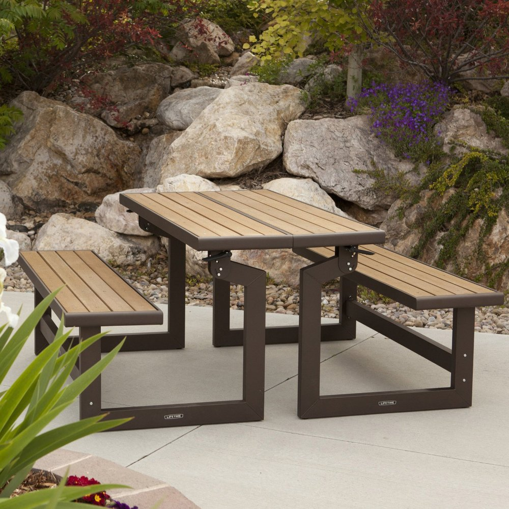 Picture of: Classic Folding Picnic Table