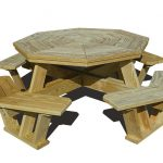 Classic Octagon Picnic Table
