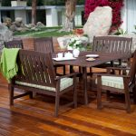 Classic Wood Patio Dining Table Ideas
