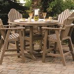 Comfortable Bar Height Patio Table And Chairs