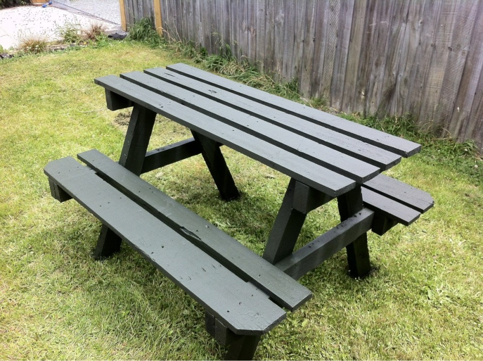 Image of: DIY Pallet Picnic Table