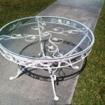 Diy Wrought Iron Patio Coffee Table
