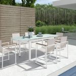 Extendable Patio Dining Table Interior
