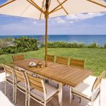 Extendable Patio Dining Table Luxury