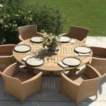 Extendable Patio Dining Table Modern