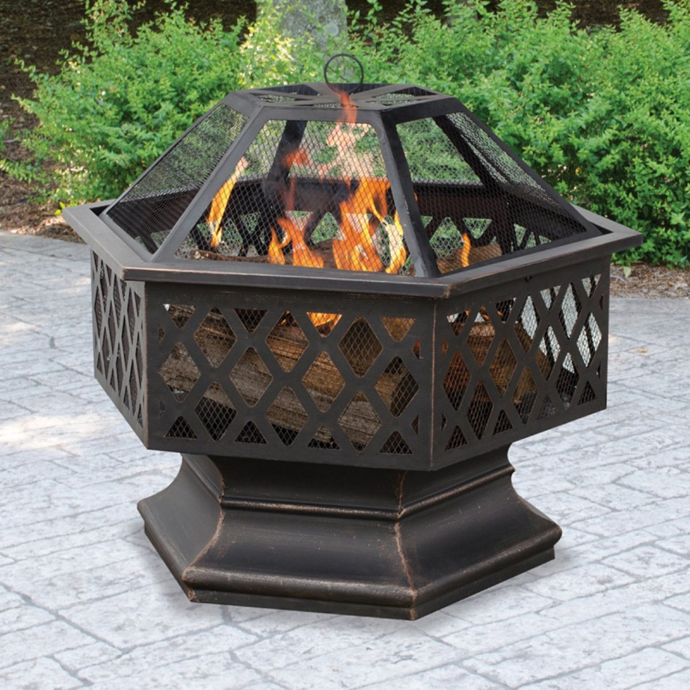 Picture of: Firepit Coffee Table Picture