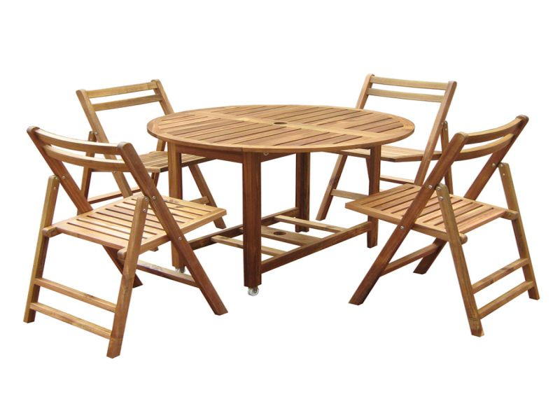 Picture of: Folding Patio Dining Table Sets