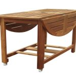 Folding Patio Dining Table Wood