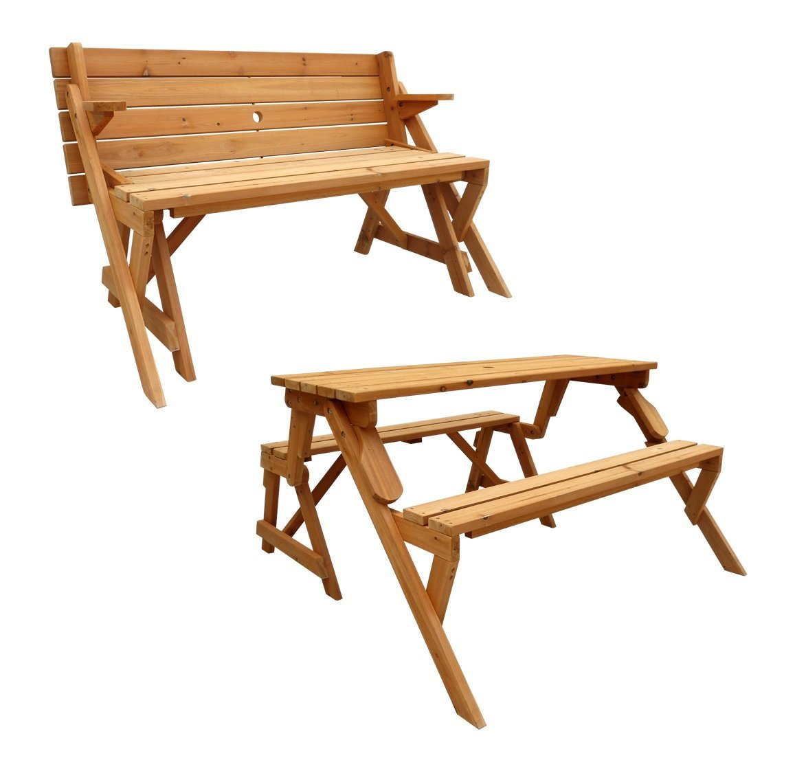 Picture of: Folding Picnic Table Bench Ideas