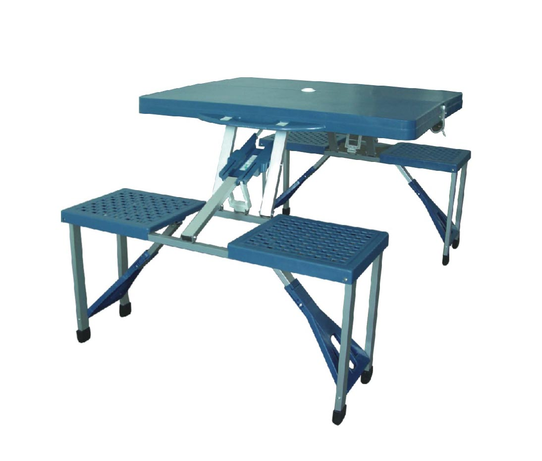 Picture of: Folding Picnic Table Bench Style