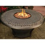 Good Table With Fire Pit