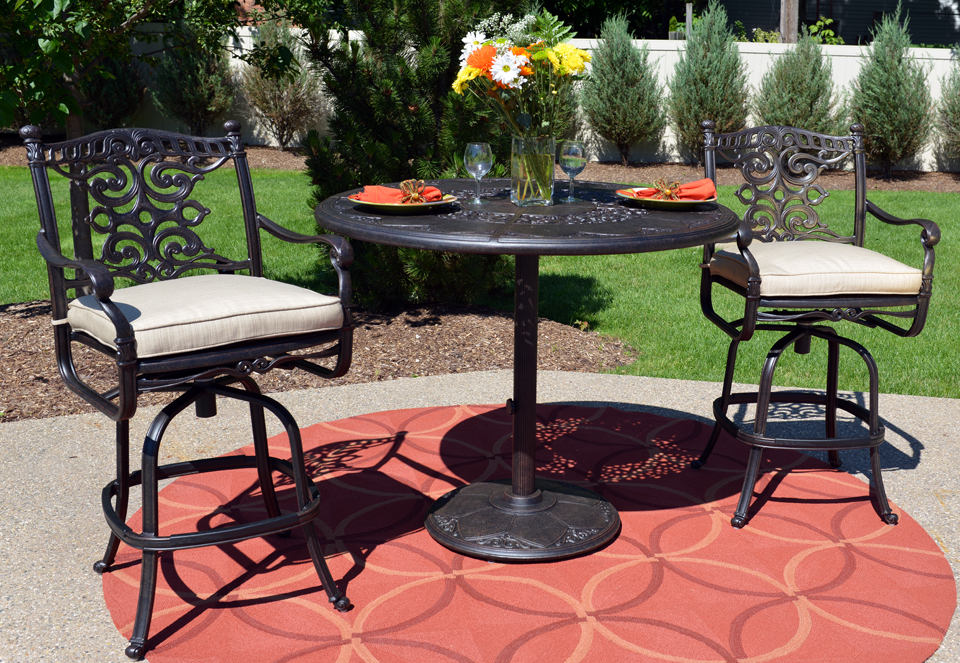 Image of: Ideas Bar Height Patio Table Set