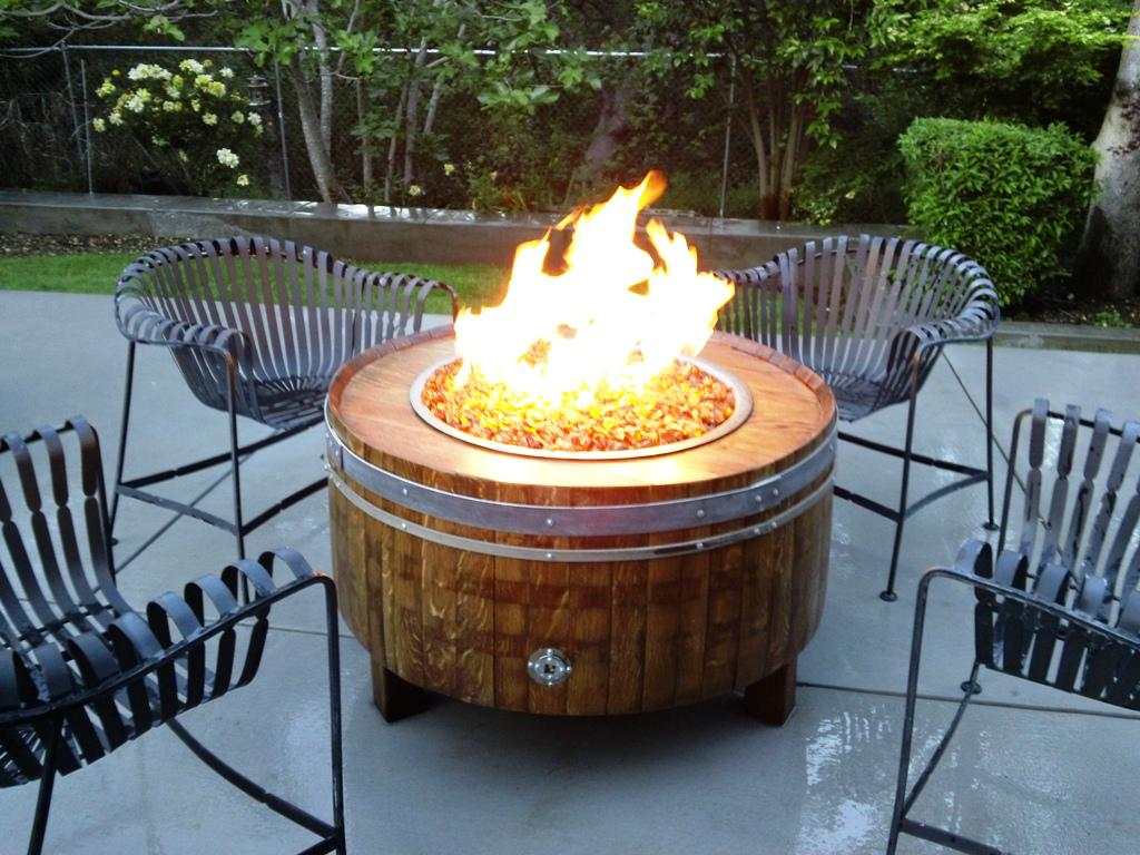 Picture of: Ideas Diy Fire Pit Table Material