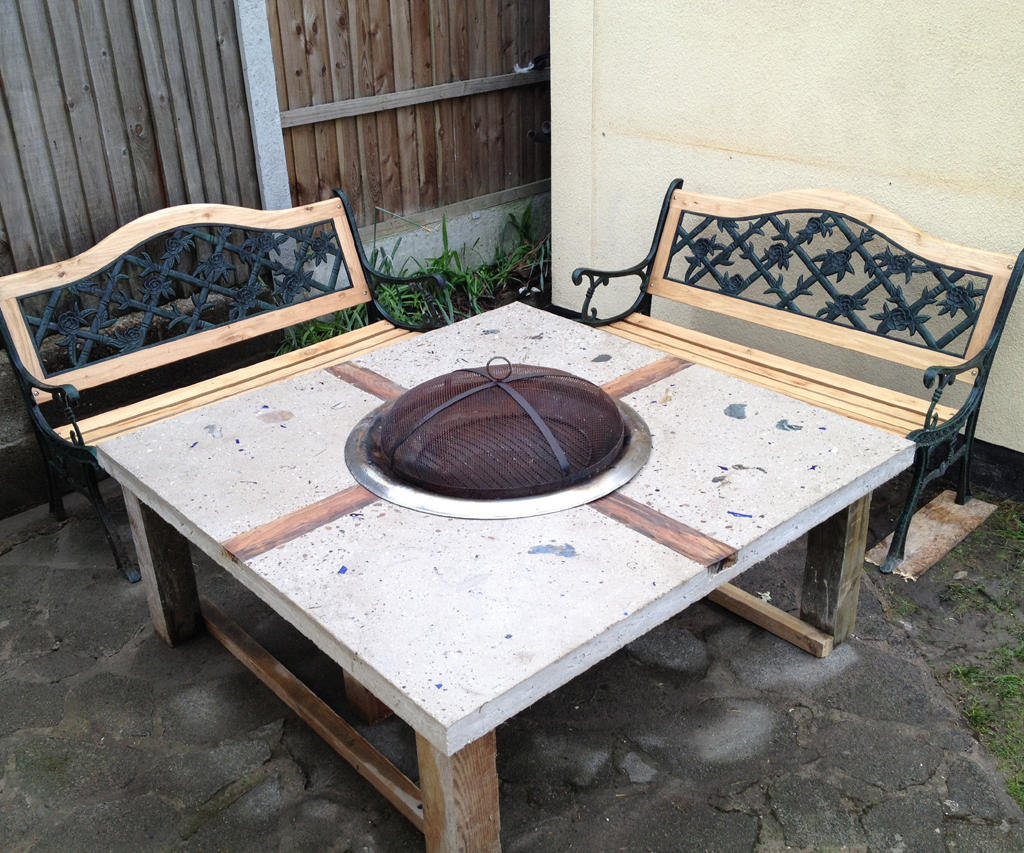 Picture of: Ideas Diy Fire Pit Table at Home