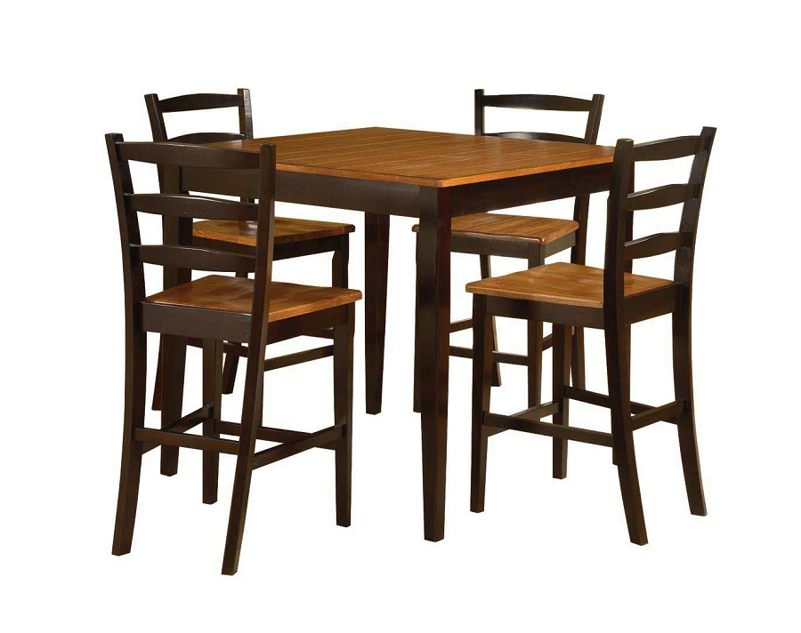 Image of: Latest Patio Bar Height Table and Chairs