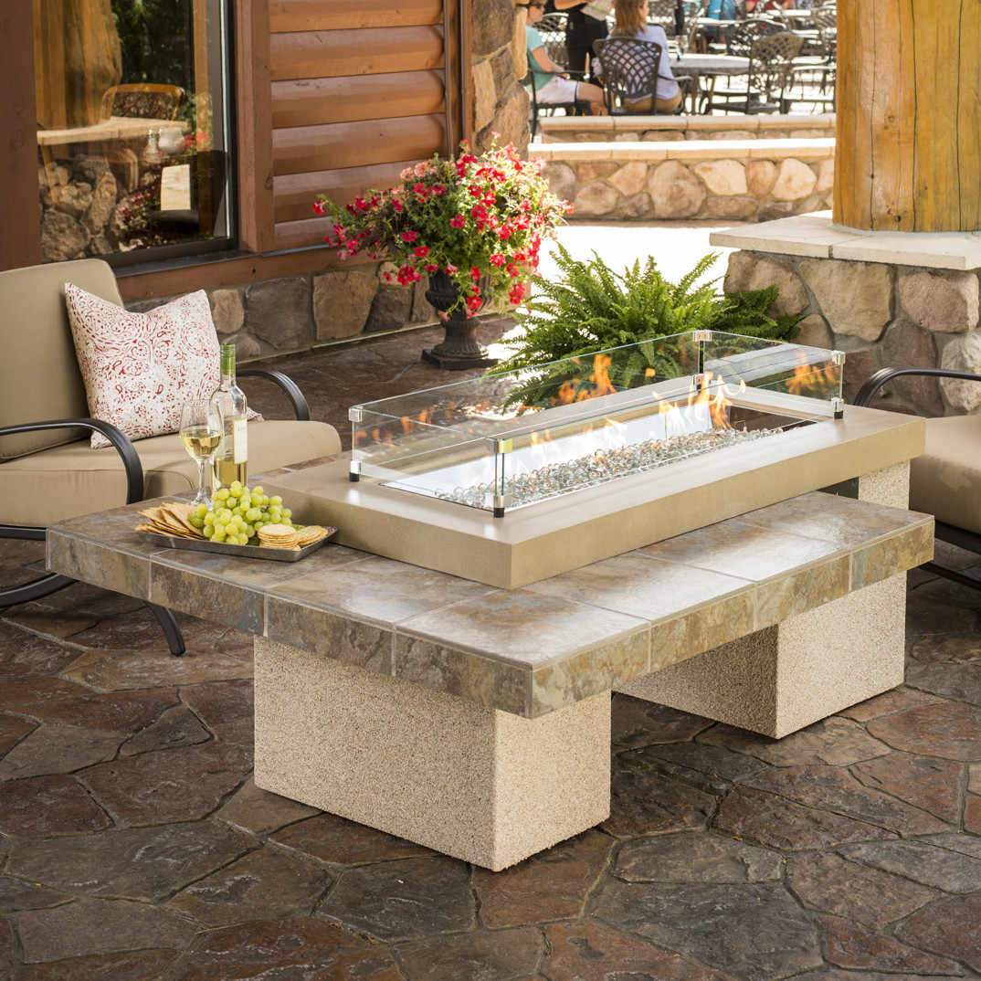 Image of: Luxury Table Top Firepit