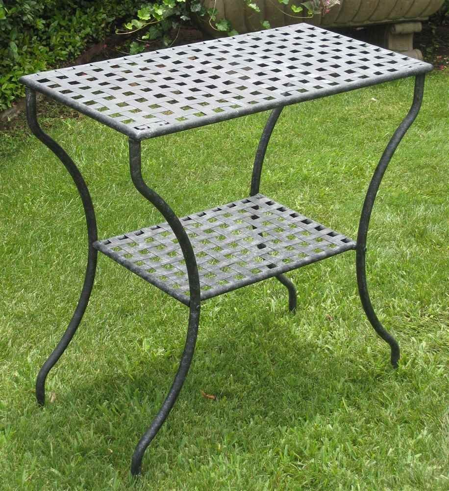 Picture of: Metal Patio Side Table Ideas