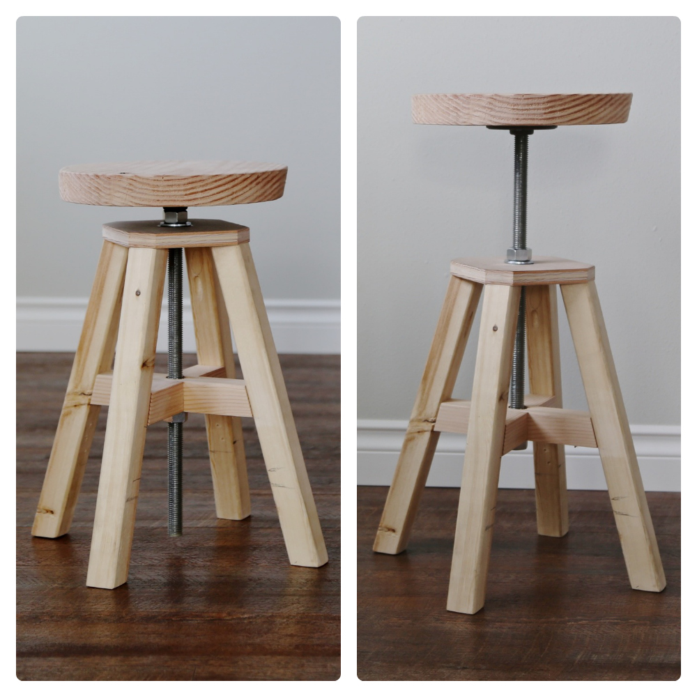 Picture of: Model of Adjustable Bar Stool