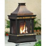 Model Of Portable Outdoor Fireplace