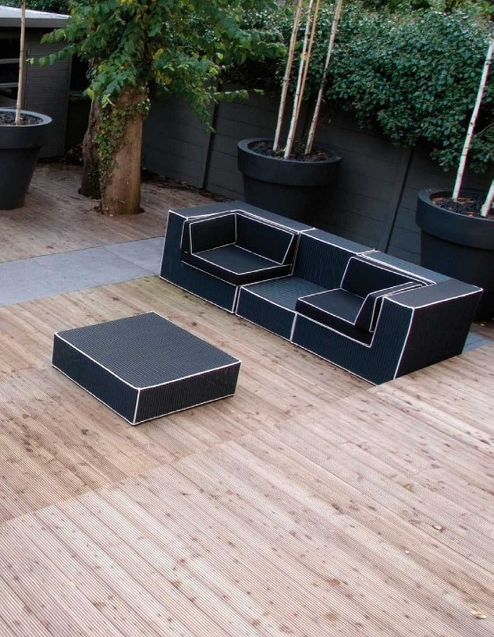 Picture of: Modern Outdoor Patio Coffee Table