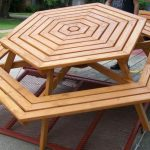 Octagon Picnic Table Inspired