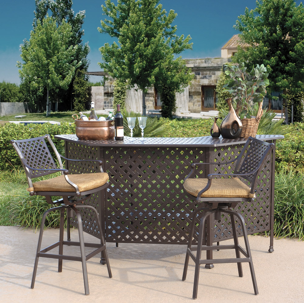Picture of: Outdoor Patio Bar Table Design