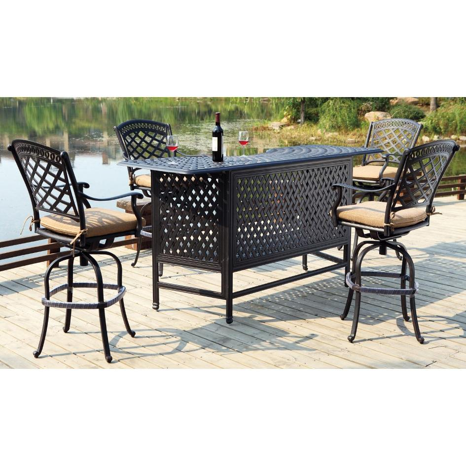 Picture of: Outdoor Patio Bar Table Ideas