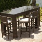 Outdoor Patio Bar Table Inspired