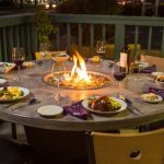 Outdoor Table With Firepit Cover