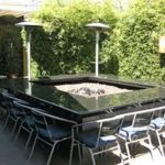 Outdoor Table With Firepit Propane
