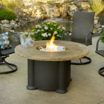 Outdoor Table With Firepit And Chair