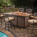 Outdoor Table With Firepit For Home