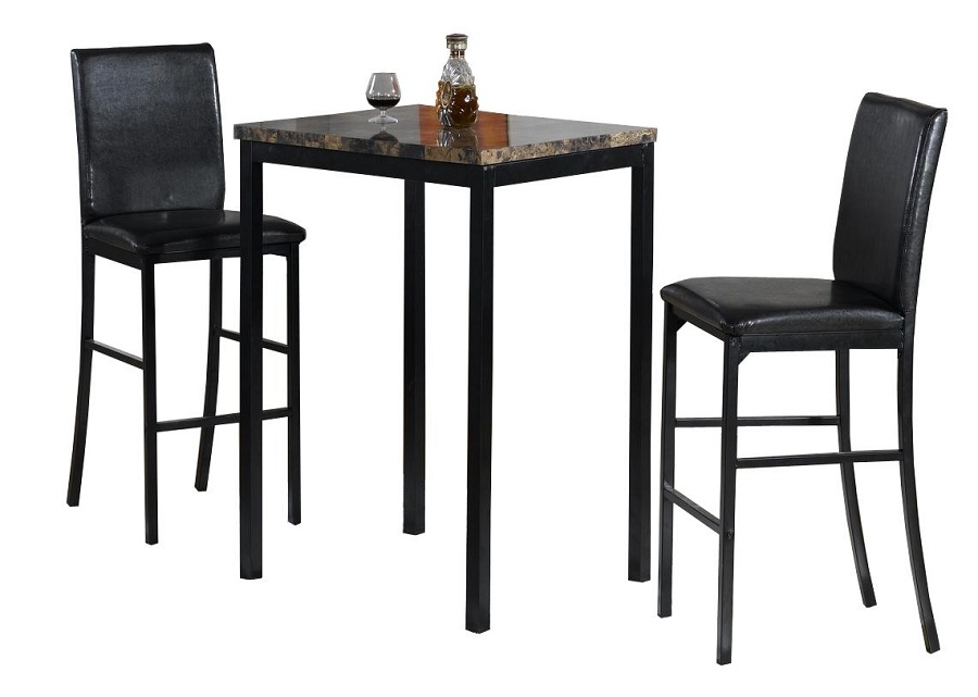 Image of: Patio Bar Height Table and Chairs Ideas