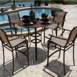 Patio Bar Table Sets For Kitchen