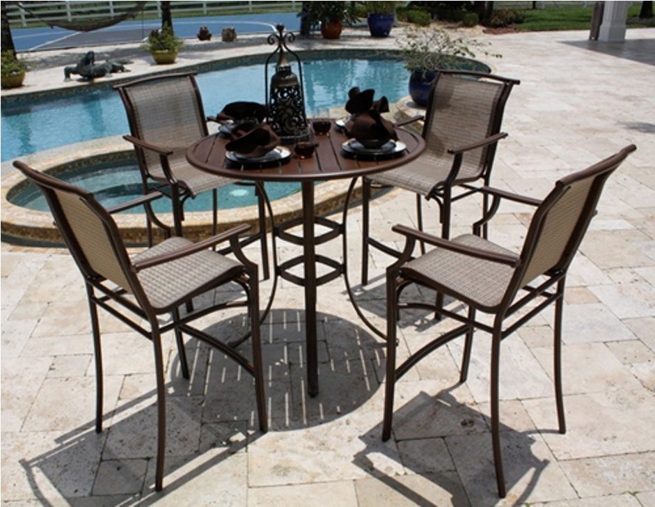 Image of: Patio Bar Table Sets for Kitchen