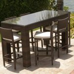 Patio Bar Table Sets For The Home