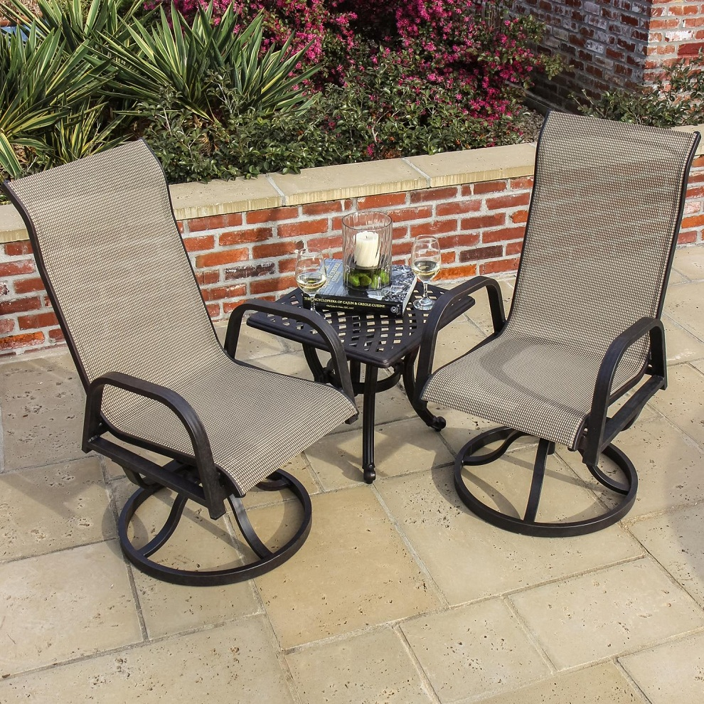 Picture of: Patio Bistro Table Square