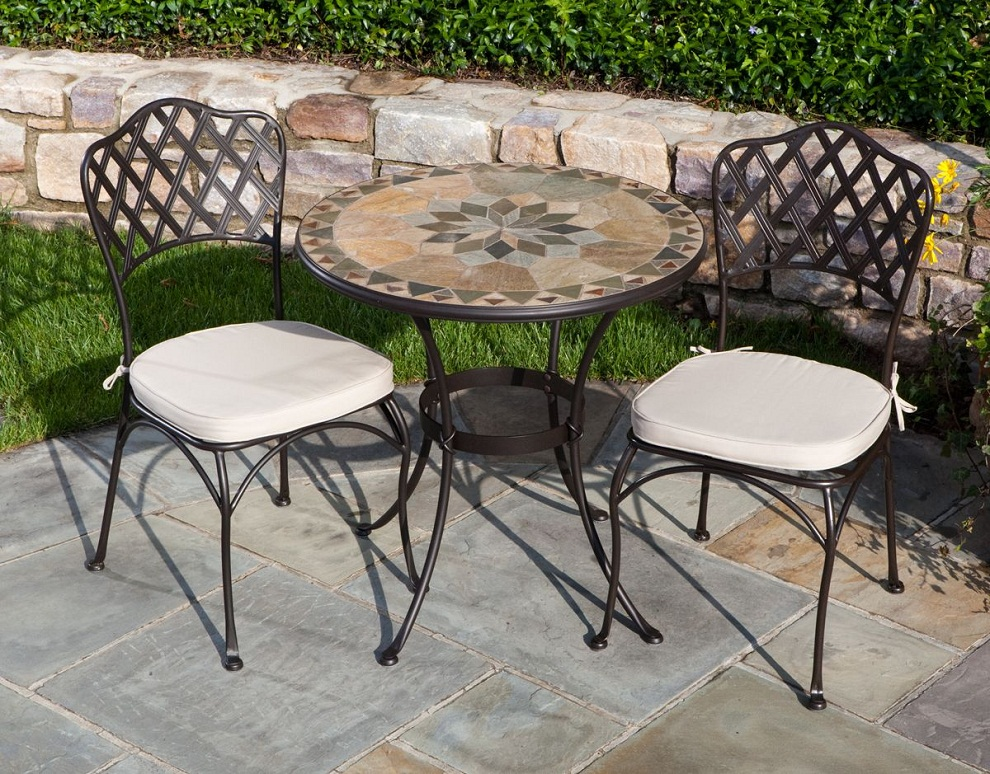 Picture of: Patio Bistro Table and Chair