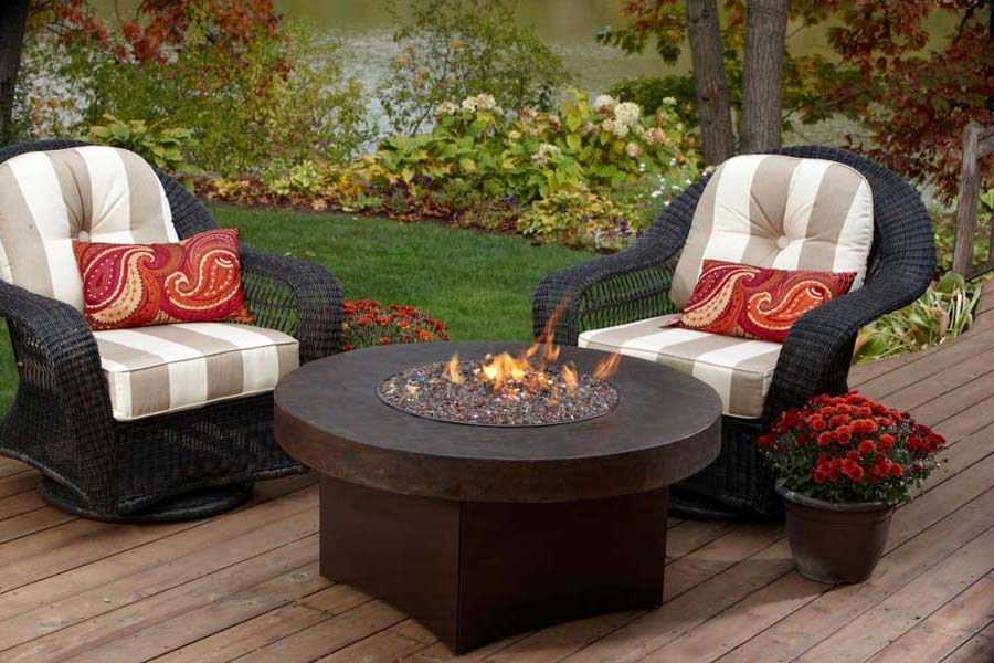 Picture of: Patio Propane Firepit Table