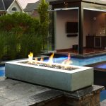 Patio Table With Firepit Decor