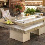 Patio Table With Firepit Ideas