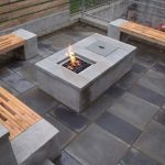 Patio Table With Firepit Style