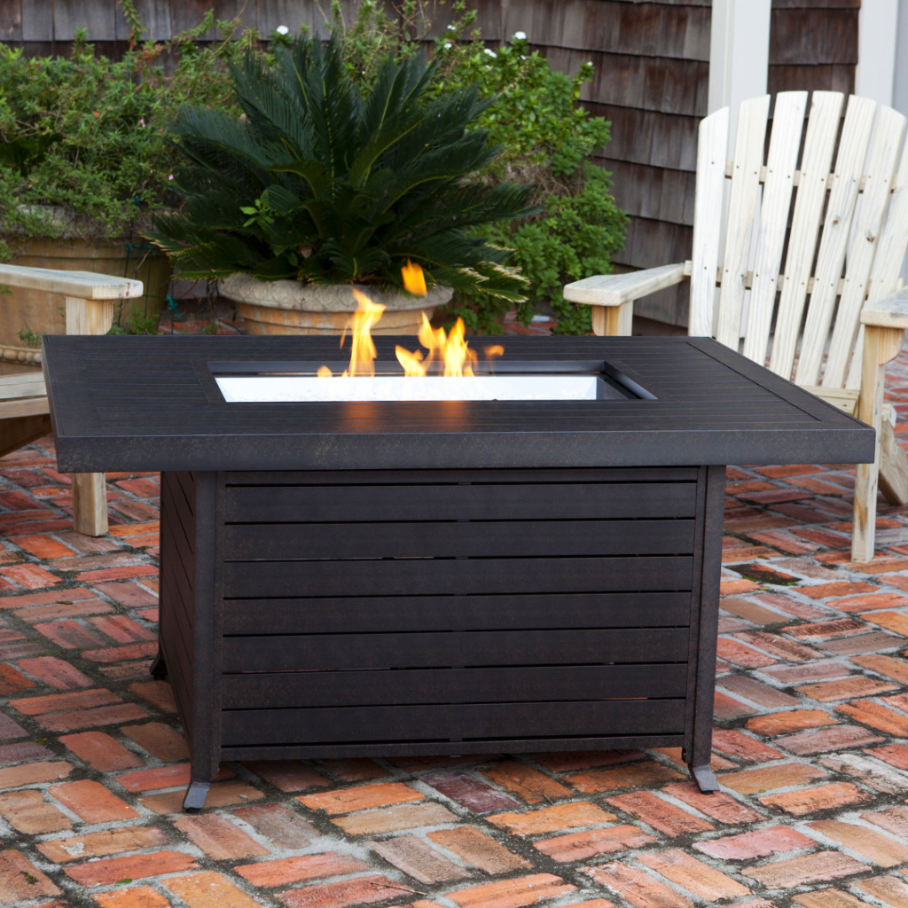 Image of: Patio Table with Firepit Type
