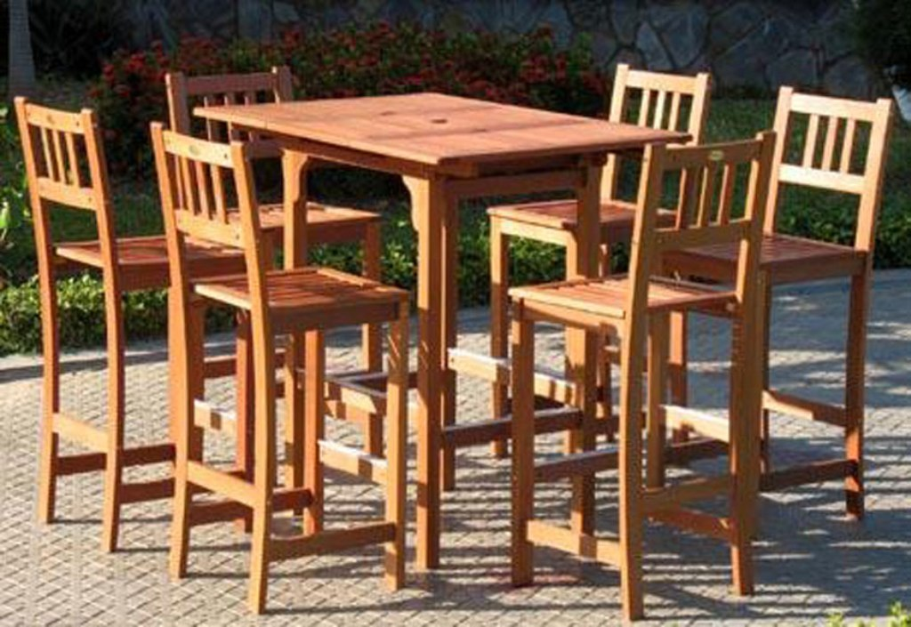 Picture of: Patio bar Table Sets Clearance
