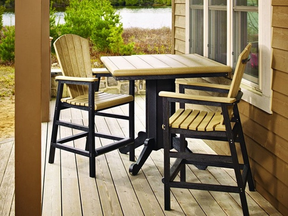 Image of: Patio bar Table Sets Ideas