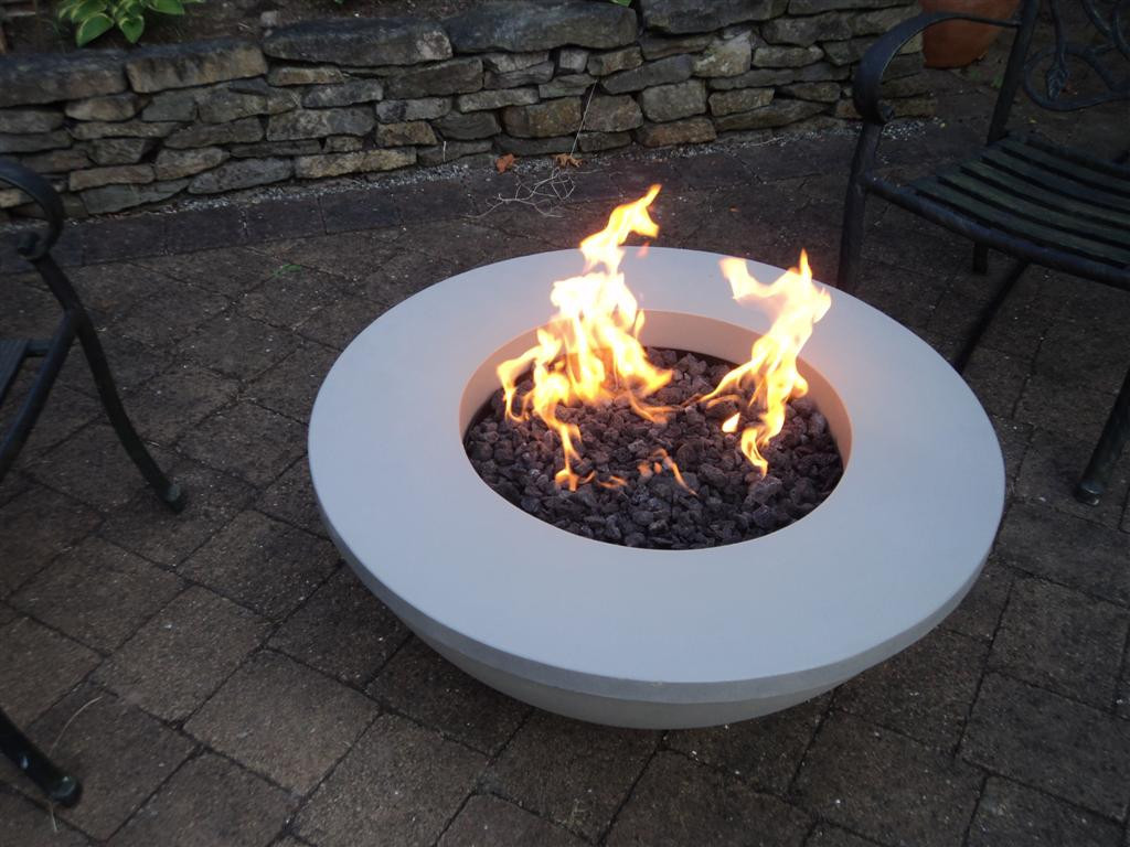 Picture of: Perfect Firepit Coffee Table