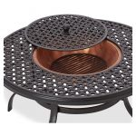 Perfect Table With Fire Pit
