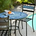 Pool Outdoor Bistro Table and Chairs